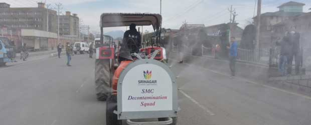 Srinagar uses high-tech machinery